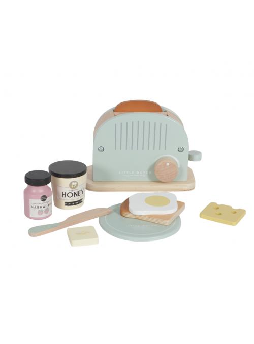 Dětský dřevěný toastovač do kuchyňky