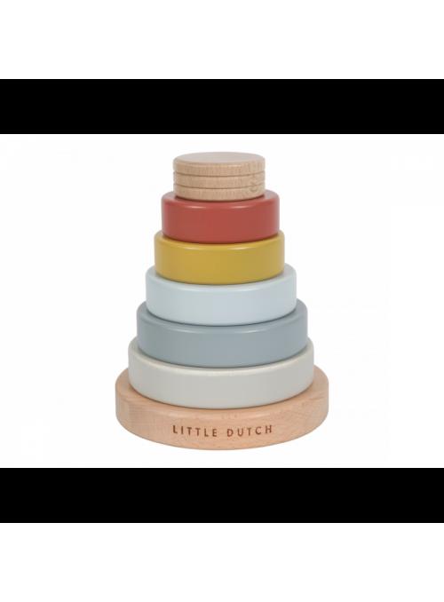 Dětská skládačka – nasazovací kroužky, kolekce Pure&Nature