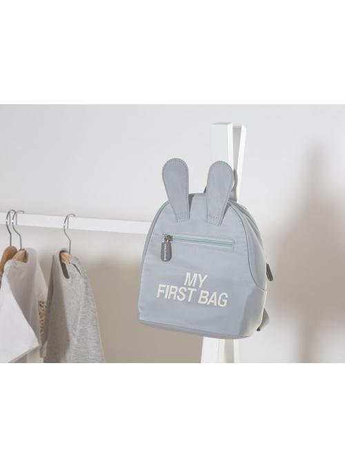 Detský ruksak MY FIRST BAG, šedý