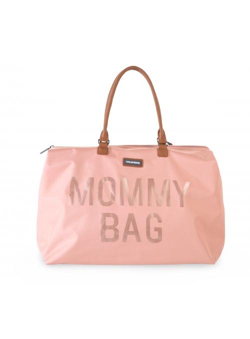 Velká přebalovací taška  MOMMY BAG, růžová