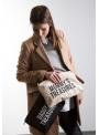 Mini taška s putkom a remienkom MOMMY´S TREASURES, krémovo biela