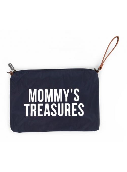 Mini taška s putkom a remienkom MOMMY´S TREASURES, námornícka modrá