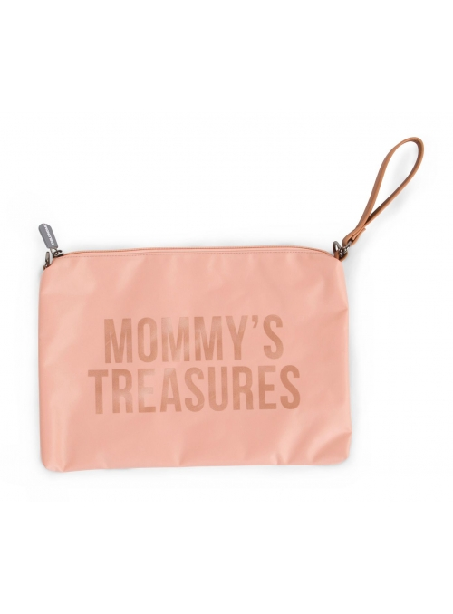 Mini taška s putkom a remienkom MOMMY´S TREASURES, ružová