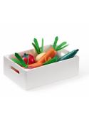 Dětská dřevěná bedýnka se zeleninou, Bistro