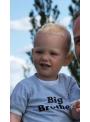 Tričko BIG BROTHER, šedé - 6-12 mes