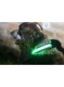Iluminačný obojok na psíka, zelený- S/M (31/41cm)