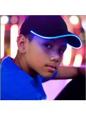 Iluminační kšiltovka s modrým světlem