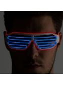 Iluminační brýle, modro/oranžové