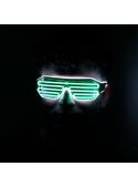 Iluminační brýle, zeleno/bílé