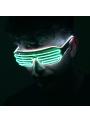 Iluminačné okuliare, zeleno/biele