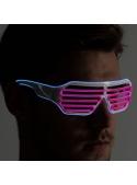 Iluminační brýle, růžově/modré