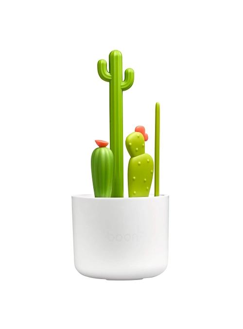 CACTUS - set kefiek na čistenie fliaš, kaktusy