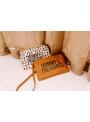 Mini taška s putkom a remienkom MOMMY´S TREASURES, leopardia