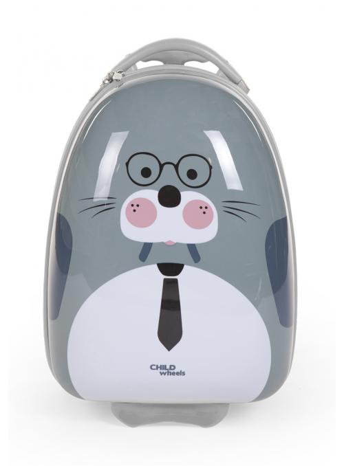 Dětský pojízdný kufr Mrož