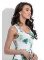 Kolibrík - maxi padavé šaty na ramienka - M