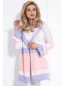 Unicorn - pohodlný dámsky sveter s dlhým rukávom a kapucňou - L/XL