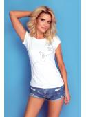 """Minimalistické dámské tričko """"Face"""""""