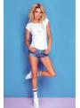 """Minimalistické dámske tričko """"Face"""" - S/M"""
