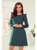 """Mini šaty """"Ester"""" s dlouhým rukávem, zelené"""