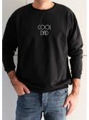 """Pánská mikina """"Cool dad"""" černá"""