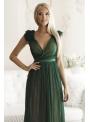 Skylar - maxi šaty, zelené - S