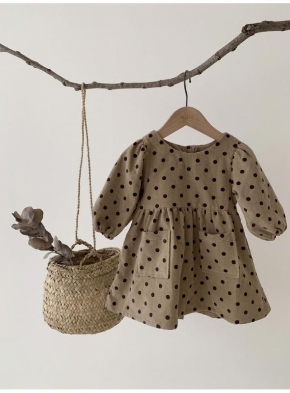 """dětské šaty """"Malá pařížanka"""""""