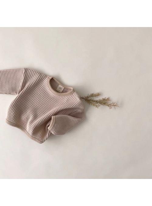 Šedý dětský svetr