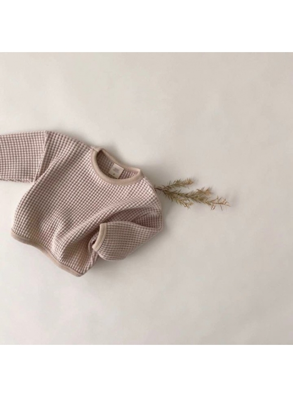 Šedý detský sveter, 12-18 mesiacov