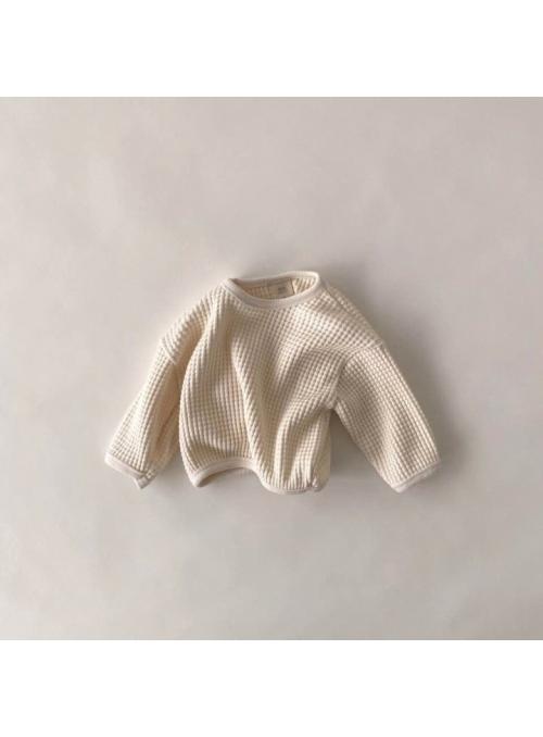 Krémovo biely detský sveter, 12-18 mesiacov
