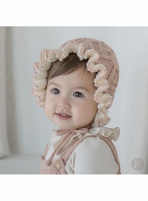 """Růžová dětská čepice """"čepeček"""""""