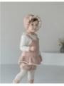 """Ružová detská čiapočka """"čepček"""", 48/50"""