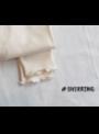 Set – proužkované šaty + legíny