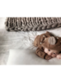 Bambi - dětské body s kapucí, hnědé