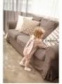 Růžové dětské body s oušky ZAJÍČEK