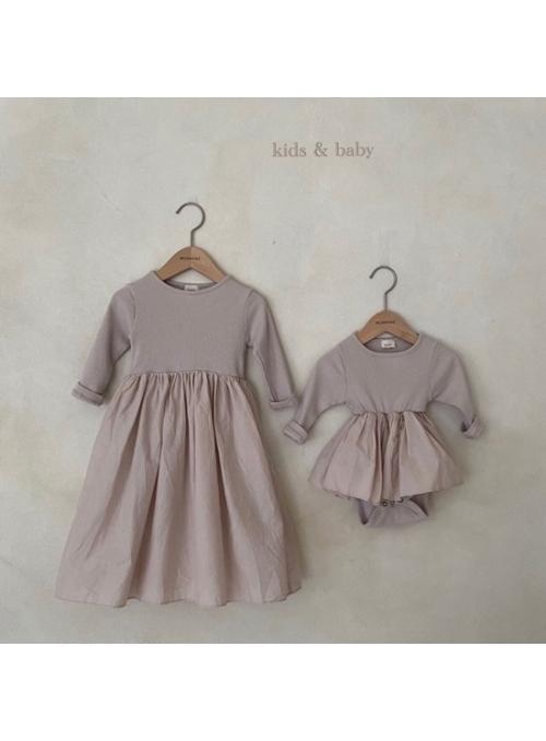 Mauve princess, detské šaty - 1-2 roky