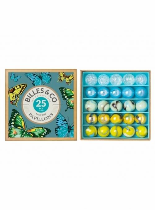 Mini box guľôčok, motýlia záhrada