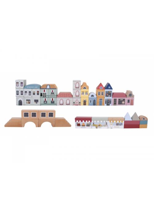 Město - sada k vláčkové dráze