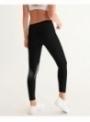 dámske yoga DOLLY doodling legíny, čierne - XS