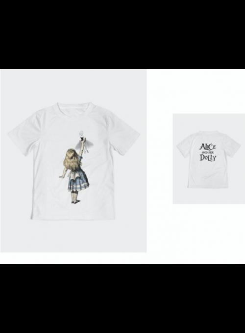 detské DOLLY tričko Alica a jej DOLLY, DOLLY v krajine zázrakov - 4-5 rokov