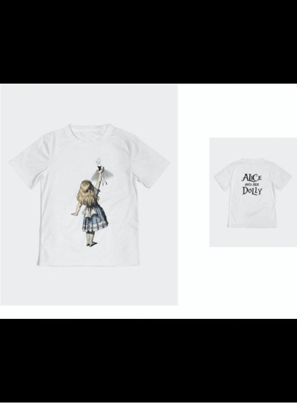 dětské DOLLY tričko Alice a její DOLLY, DOLLY v krajině zázraků