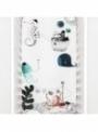 Plachta na detskú postieľku 70x140 cm- Podmorská láska