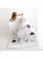 dětská přikrývka do postýlky – Veverka, 114x142cm