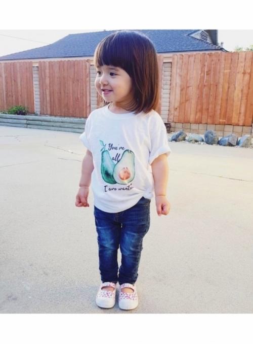 You´re All I Avo Wanted -detské tričko s avokádom, matching rodinné - 2T