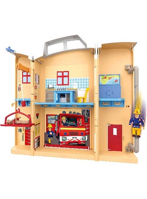Požiarnik Sam - požiarnicka stanica v kufríku