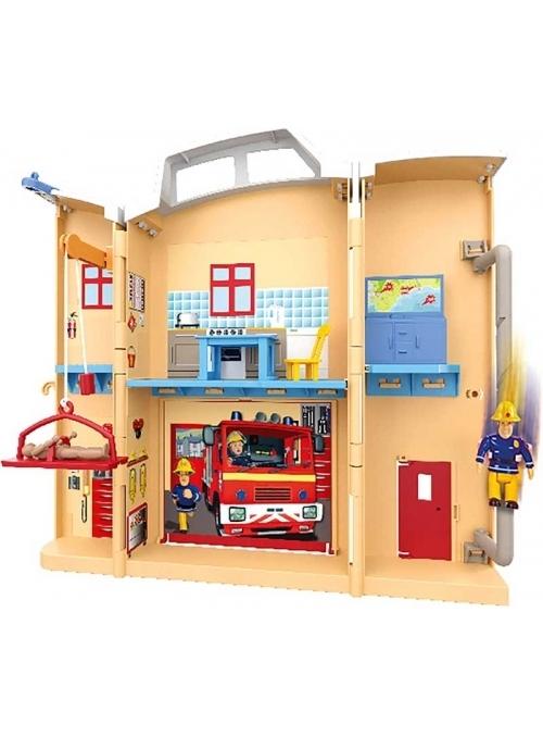Požárník Sam - hasičská  stanice v kufříku
