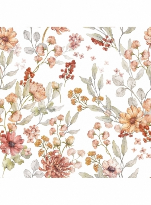 Kouzlo podzimní zahrady - tapeta na stěnu