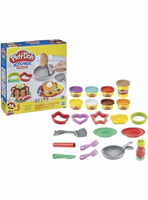 Set na výrobu palačinek, Play-doh