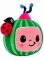 Cocomelon - logo, certifikovaná dětská plyšová hračka
