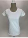 Dámské tričko s okrouhlým výstřihem, basic