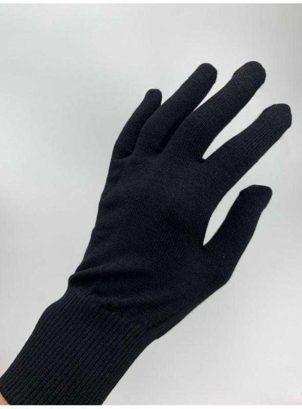 Rukavice s vláknem na ovládání dotykového displeje, černé